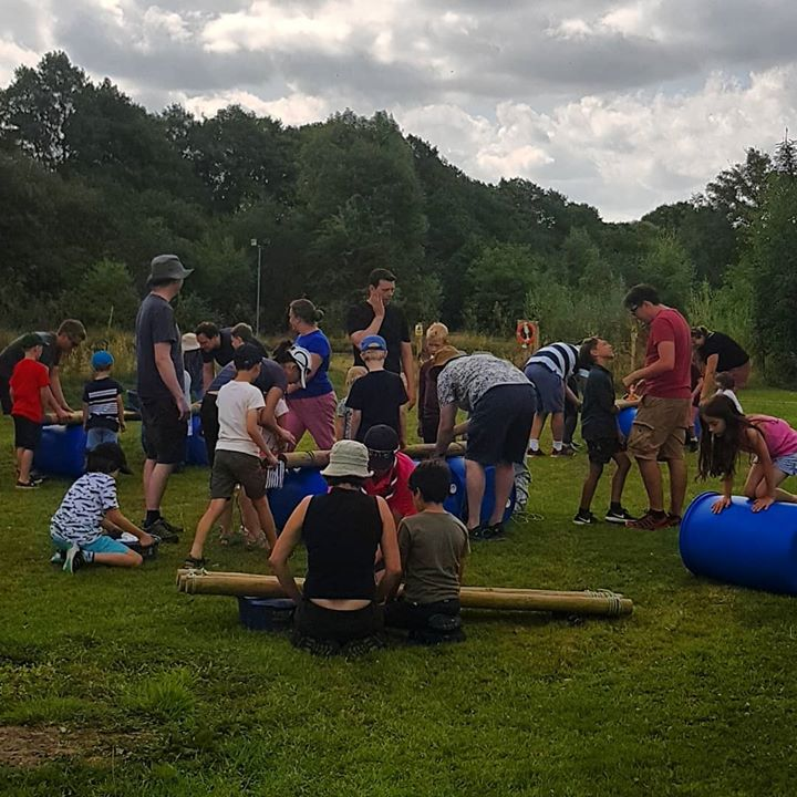 Water challenge @ family camp