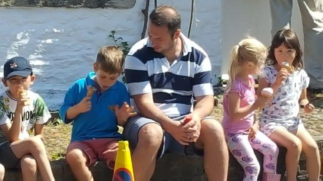 Treasure hunt @ family camp