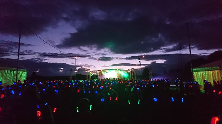 Tonight's Silent Disco at Red Rose 2018  #RR2018