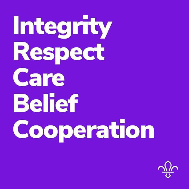 Our Scout Values.