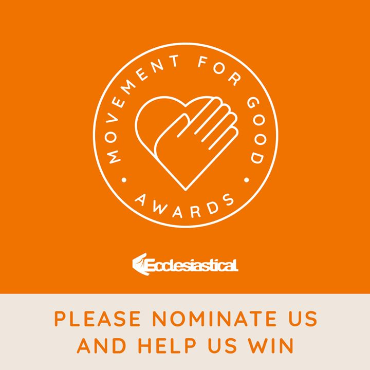 Your nomination really counts. £1,000 could make a real difference to the work we do to help young people get skills for life.    Your nomination could be the one that helps us win.   Click 'nominate now' on the website and enter our details, our charity number is 521575.   Thanks for your support!   ecclesiastical.com/movementforgood  The more nominations we get, the greater our chance of winning, so please spread the word.
