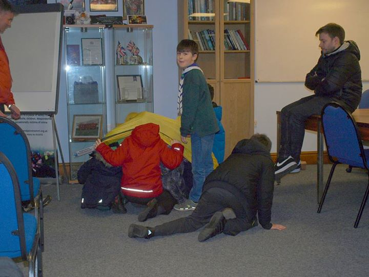 An Evening at Bowland Mountain Rescue with Rowallan Cubs