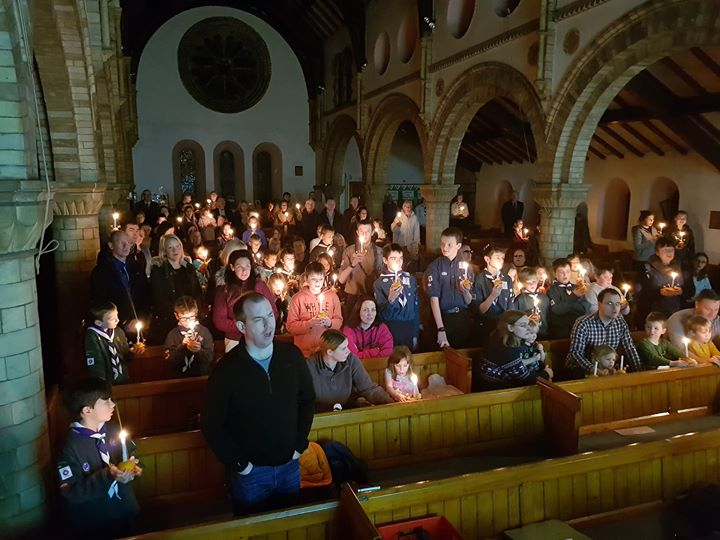 Tonights Christingle Service at Scotforth St Paul's Church